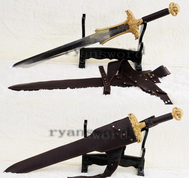 Strong Conan Destroyer Handmade Sword Heavy Duty Cutting Sword