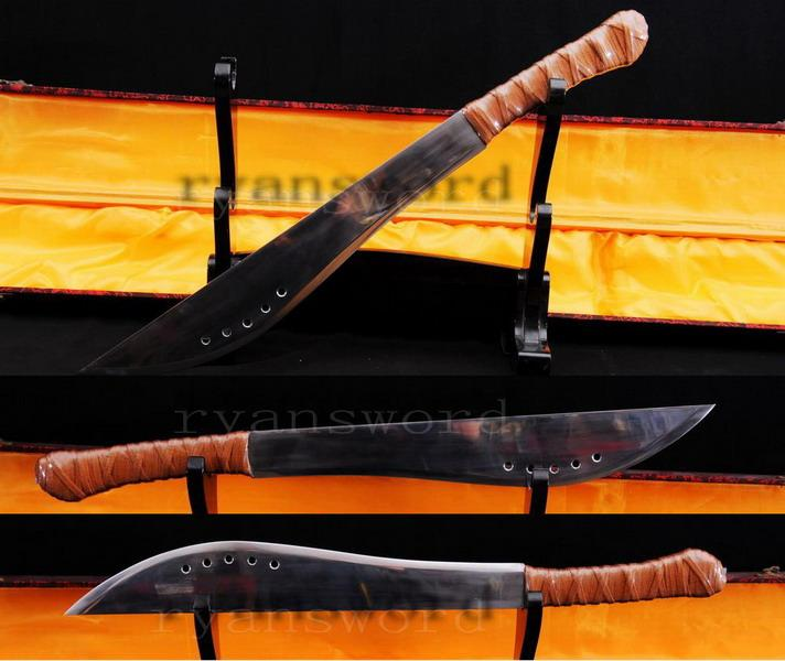 Full Functional Eli Sword With Leather Shealth Heavy Duty Cutting