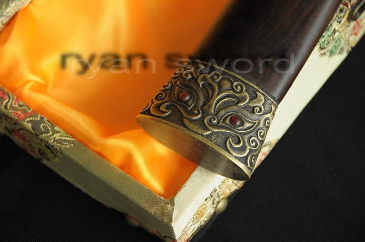 High Quality Folded Steel 1095 Carbon Steel Sanmai Chinese Han Sword