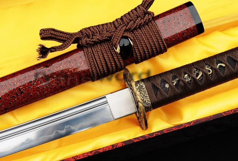 High Quality Clay Tempered 1095carbon Steel Japanese Katana Sword