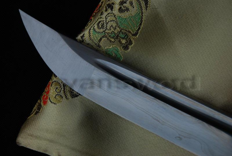 High Quality 1095 Carbon Steel Folded Steel Sanmai Japanese Samurai Katana Sword