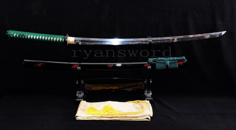 High Quality Clay Tempered Maru Japanese Samurai Sword Katana