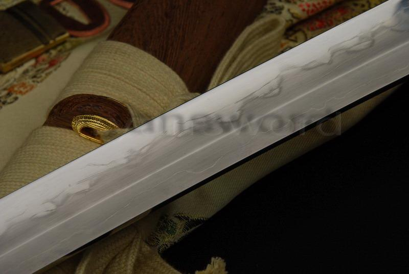 High Quality Combined Material Clay Tempered+Abrasive Hualee Saya Japanese Katana Sword