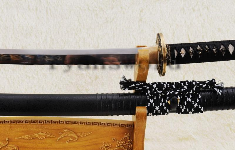 High Quality Maru 1095 Carbon Steel Bruce Lee Anniversary Japanese Sword Katana