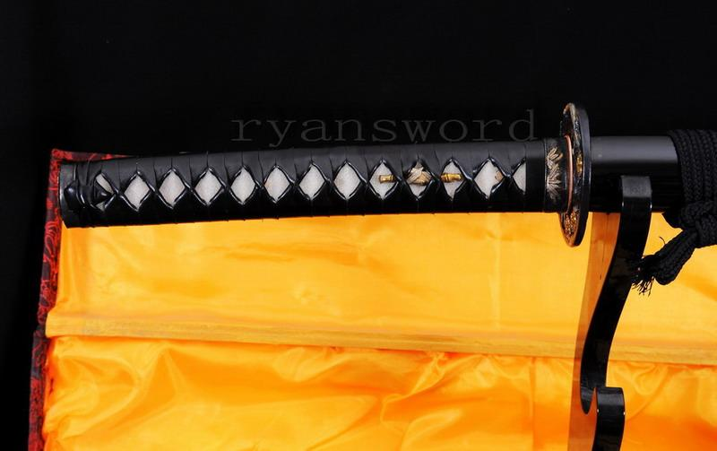 High Quality Shihuzume Clay Tempered Abrasive Shell Saya Japanese Samurai Katana Sword