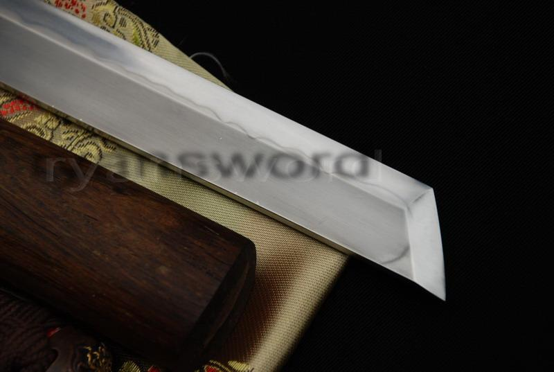 High Quality 1095 Carbon Steel Clay Tempered+Abrasive Japanese Samurai Ninja Sword