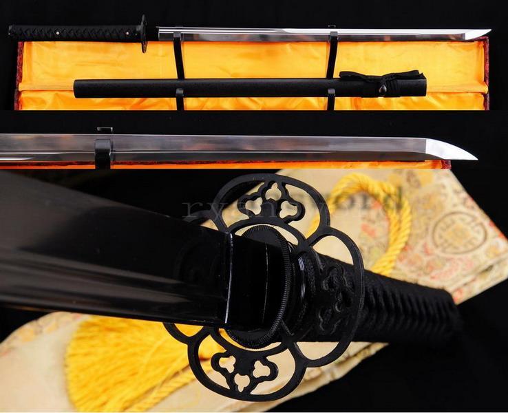 High Quality 1095 Carbon Steel Japanese Maru Samurai Ninja Sword