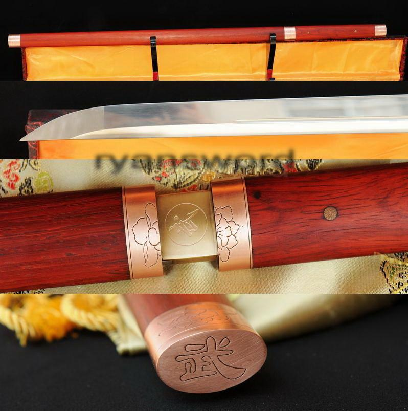 High Quality 1095 Carbon Steel Roes Saya Japanese Samurai Ninja Sword