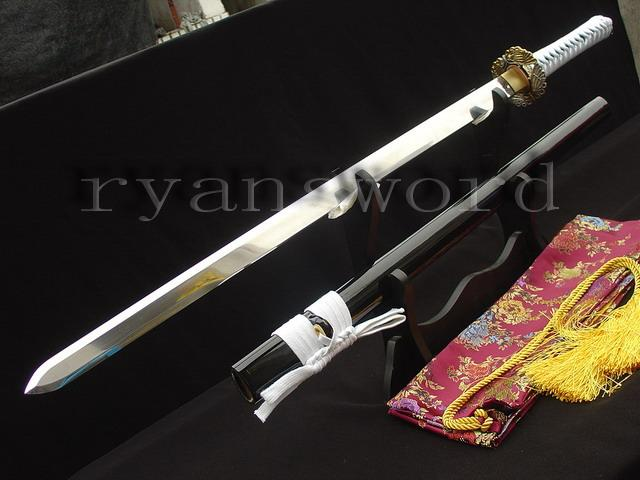 High Quality Sanmai 1095 Carbon Steel+Folded Steel Japanese Ninja Sword