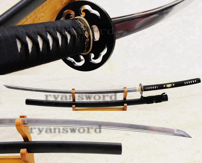Hand Forged 1095 Carbon Steel Japanese Samurai No-Dachi Sword